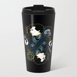 The Detective of 221B Metal Travel Mug