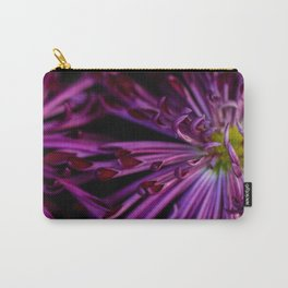Purple & Black Carry-All Pouch