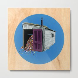 Sheds & Shacks | No:2 Metal Print