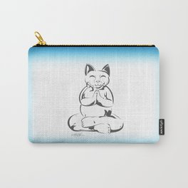 Buddha Cat Love Carry-All Pouch