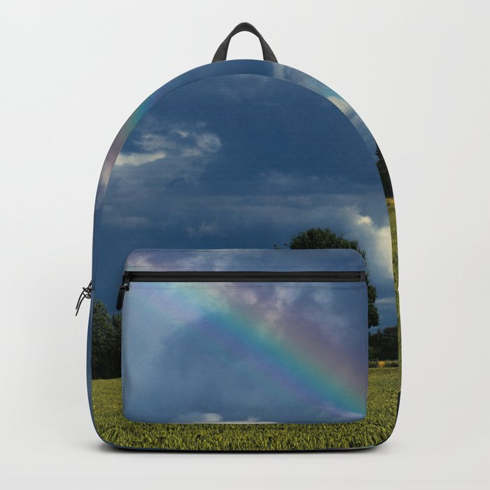 Living in the rainbow land Backpack