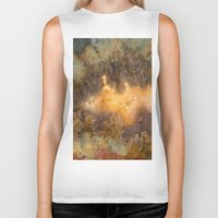 30 rock Biker Tanks featuring Idaho Gem Stone 30 by Leland D Howard