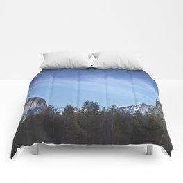 Yosemite Valley II Comforters