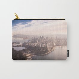 Vancouver Aerial Photography Carry-All Pouch