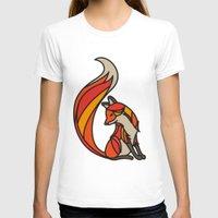 mr fox T-shirts featuring Mr. Fox by Cohen McDonald