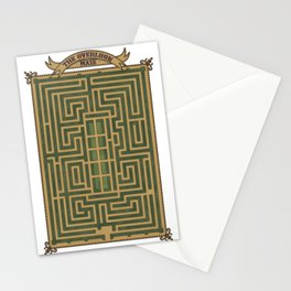The Overlook Maze C Stationery Cards