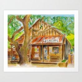 Luckenbach, Texas Art Print