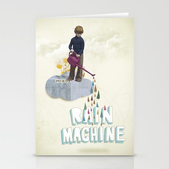 Rain Machine Stationery Cards