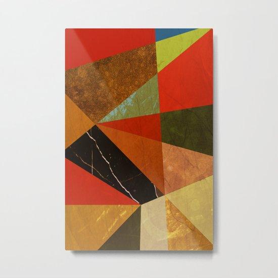 Abstract #257 Vincent's Bedroom Metal Print