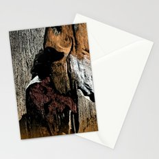 The Little Old Hunter -series with the cave images Stationery Cards