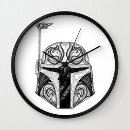 baba fett decor Wall Clock