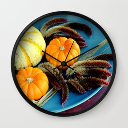 Cut And Dried... Wall Clock