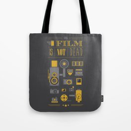Film is not dead  Tote Bag