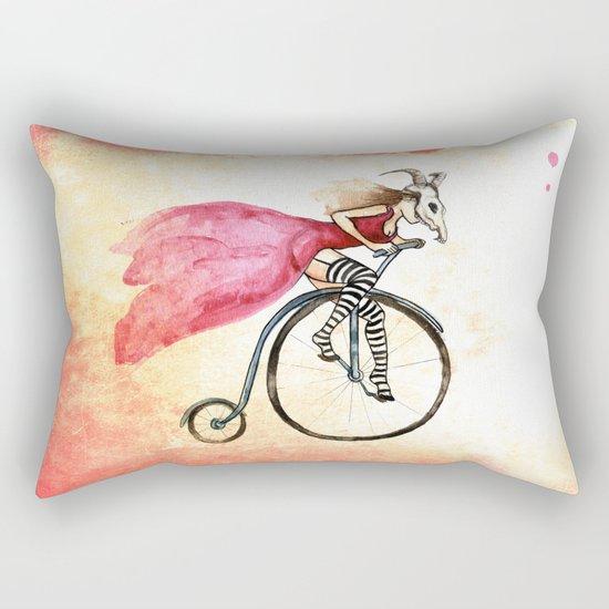 Penny Girl Rectangular Pillow
