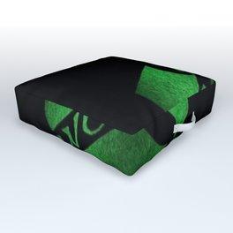 wu-tang game green Outdoor Floor Cushion