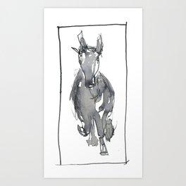 Galloping Horse Art Print