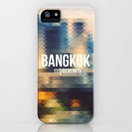 Bangkok - Cityscape iPhone Case