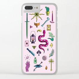 Fairytale Clear iPhone Case