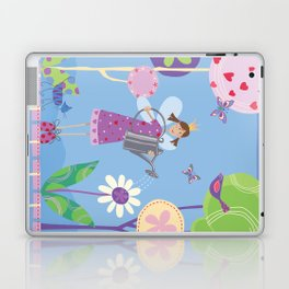 Fairy in the Garden Laptop & iPad Skin