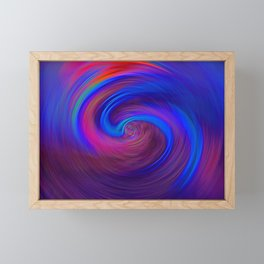 """Life's Random Path"" Photo Framed Mini Art Print"