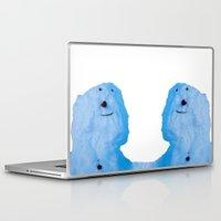 snowman Laptop & iPad Skins featuring Snowman  by AstridJN