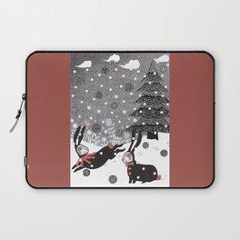 Snow Carnival Laptop Sleeve