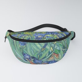 Irises by Vincent Van Gogh, 1889 Fanny Pack