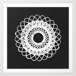 Spirograf 1 Art Print