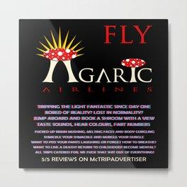Fly Agaric Metal Print