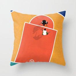 Street Basketball  Throw Pillow