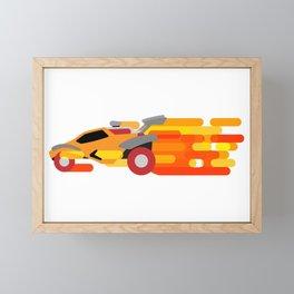 Octane Boost Framed Mini Art Print