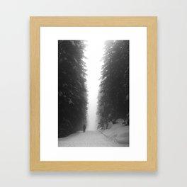 under giant Framed Art Print