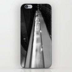 Metro in motion iPhone & iPod Skin