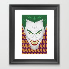 HAHA Framed Art Print