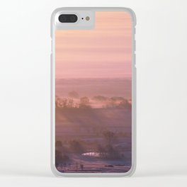 Edge of the Morning Clear iPhone Case