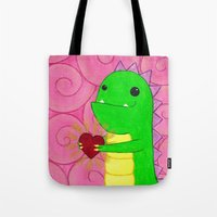 chuck Tote Bags featuring Chuck by infiniteamethyst