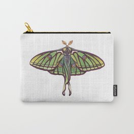 Spanish Moon Moth (Graellsia isabellae) Carry-All Pouch