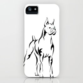 Boxer Tribal iPhone Case