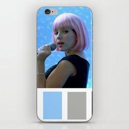 Scarlett Johansson Tokyo Karaoke iPhone Skin