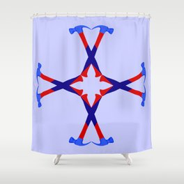 Hammers Design version 2 Shower Curtain