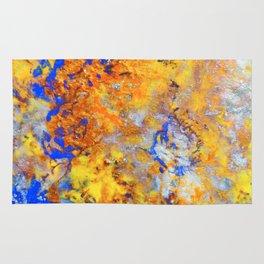 Firefall - Original Abstract Art by Vinn Wong Rug
