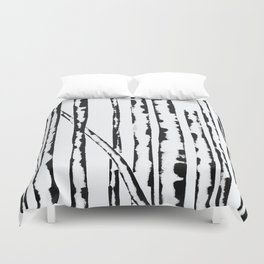Nature's Barcode Duvet Cover