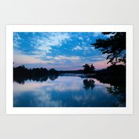 Most Beautiful Morning Art Print