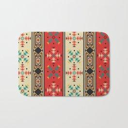 Navajo style pattern Bath Mat