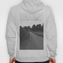 Uneven Sky Over an English Roadway Hoody