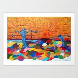 The Screaming Trees Art Print