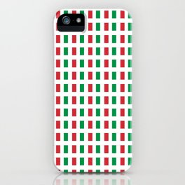 flag of Italia- Italy,Italia,Italian,Latine,Roma,venezia,venice,mediterreanean,Genoa,firenze iPhone Case
