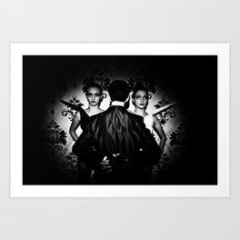 DARK II Art Print