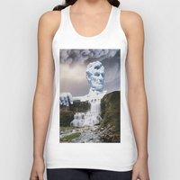 lincoln Tank Tops featuring Lincoln 2079 by John Turck