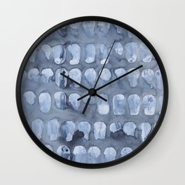 Crying Oysters Wall Clock